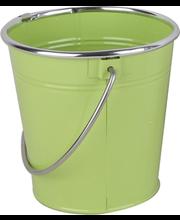 Ämber 13xk13 cm, roheline metall