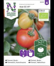 86355 Tomat Ace 55 VF  Organic, kasvuhoone