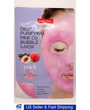 Näomask Deep Purifying pink o2 bubble