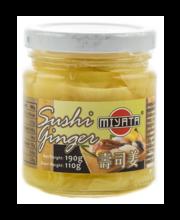 Viilutatud ingver riisiveiniäädikamarinaadis 190 g