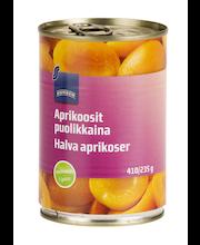 Aprikoosipoolikud omas mahlas 420/235 g