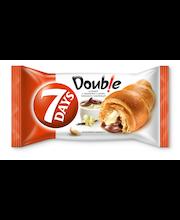 7 Days Double! croissant kakao- ja vaniljetäidisega 60 g