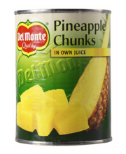 Del Monte ananassitükid, 560/350 g