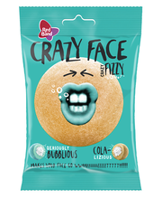 Red Band Crazy Face Fizzy koola kummikommid 80 g