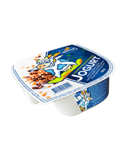 Mandlitükkide ja šokolaadiga jogurt, 150 g