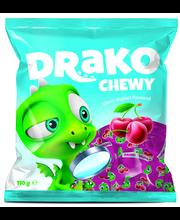 Kalev Drako kirsi- ja jogurtimaitselised närimiskompvekid 110 G