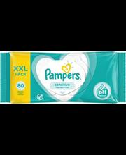 Pampers Sensitive niisked salvrätikud 80 tk