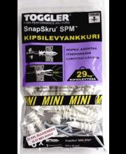 Toggler SnapSkru kipsiankur, 25 tk