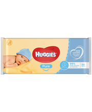 Huggies Pure niisked salvrätikud 56 tk