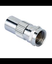 Videoadapter Coax otsik - SAT-otsik, metall