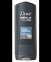 Dushigeel men 250 ml clean comfort