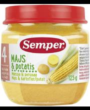 Semper maisi-kartuli püree 125 g, alates 4-elukuust