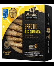 NORDIC Sprotid õlis sidruniga 120/85 g