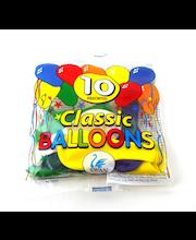 Õhupallid Classic 10 tk