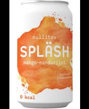 SPLÄSH gaseeritud vesi mango-mandariini 330ml