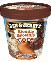 B&J šokolaadi- ja vanillijäätis küpsise tükkidega, 465 ml/416 g