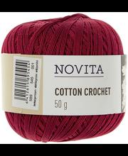 Lõng Cotton Crochet 50 g 545 jõulutäht