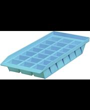 Jääkuubikute vorm, sinine plast