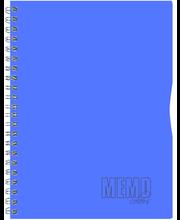 Memo Colour A5 joon, plastikkaaned, 80 lehte