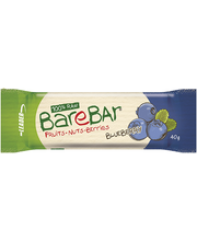 Leader BareBar mustika-toorbatoon 40 g