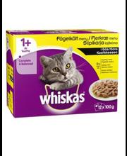 Täissööt kassidele, linnulihavalik kastmes 12 × 100 g