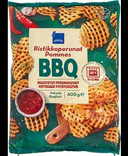 BBQ maitselised vigurkartulid 600 g