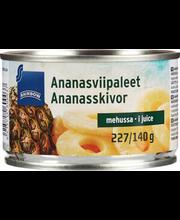 Ananassiviilud omas mahlas 227/137 g