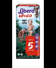 Libero Up&Go 5 Püksmähe 10-14kg 40 tk.