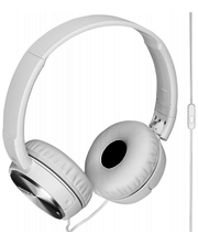 Kõrvaklapid Sony MDR-ZX110NAW mürasummutavad,  valge