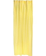 Kardin Nino 150 x250 cm, kollane, 100% puuvill
