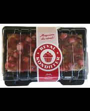 Laktoosivaba maasika-rabarberi kohupiimakook, 600g