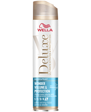 Juukselakk deluxe wonder volume & protection 250ml