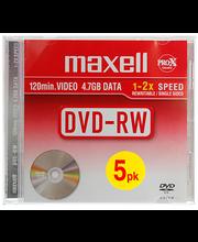 Toorik DVD+RW 4,7GB 5 tk