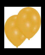 Kuldsed õhupallid, 10 tk
