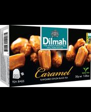 Dilmah karamellimaits. must tee niidiga kotis 20*1.5g
