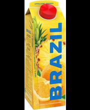 Brazil apelsini-ananassimahl, 1l