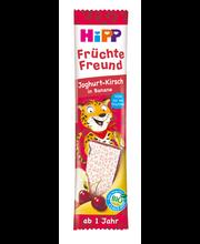 Hipp puuviljasõber joguri-kirsi-banaanibatoon 23 g, öko, alat...