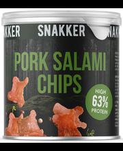 Pork salami chips 30 g