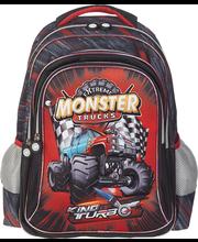 Laste seljakott monster car 3d