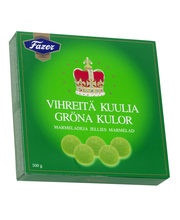 Fazer Green Jellies 500 g