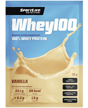 Vadakuvalk Whey100 vanilli, 30 g