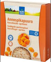 Kiirkaerahelbepuder aprikoosi 210 g