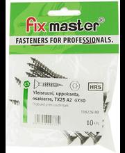 Fixmaster universaalkruvi, peitpea, osakeere, A2 TX25, 6,0 x ...