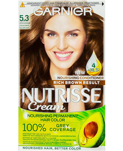 Juuksevärv Nutrisse 5.3 Golden Brown