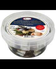 Vürtsikilu liblikfilee küüslauga, õlis 140/100 g