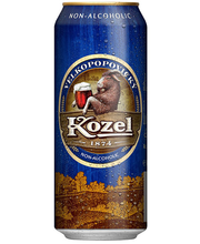 Velkopopovicky Kozel Semi-dark alkoholvaba õlu, 500 ml