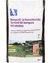 Komposti- ja kuivkäimlaturvas Rainbow, 50 l