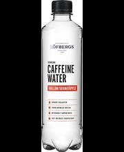 Löfbergs vaarika-granaatõunamaitseline gaseeritud vesi kofeii...