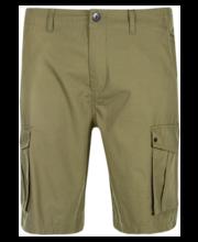 Meeste lühikesed cargo-püksid roheline, 36