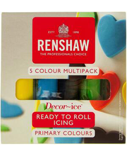 Renshaw suhkrumass värvivalik, 5x100g